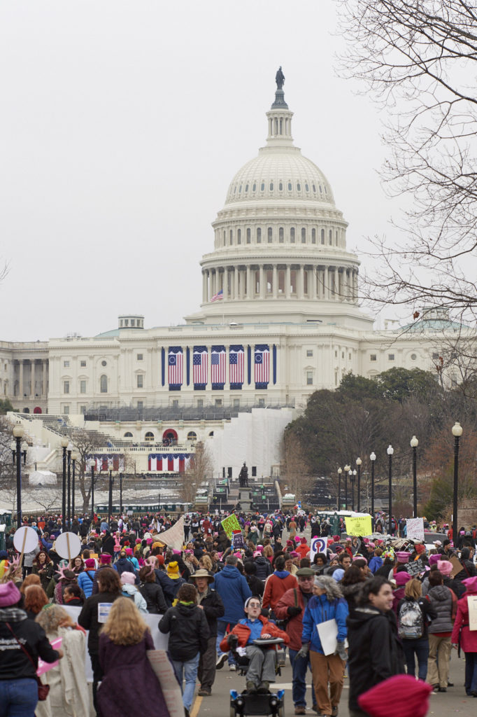 united states capitol building women's march on dc politics washington dc rights